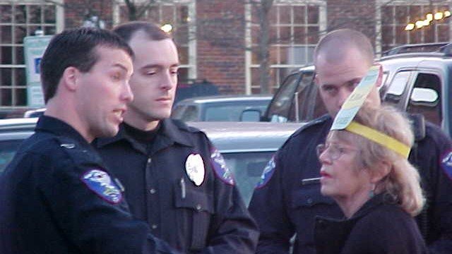 Joan & 3 cops