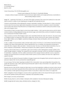FLOC Press Release