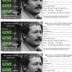 Contribution Cards
